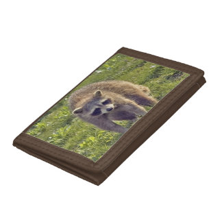 Raccoon Tri-fold Wallets