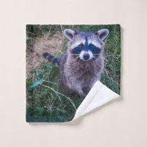 Raccoon Wash Cloth