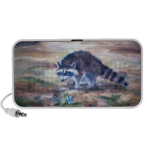 Raccoon What's That Speaker