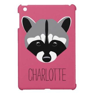 Raccoon with Sad Eyes iPad Mini Cover