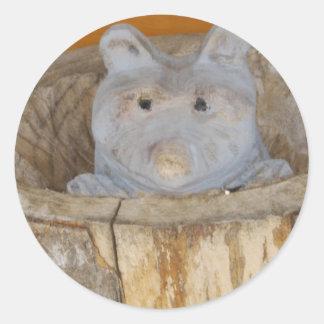 raccoon woodwork stickers
