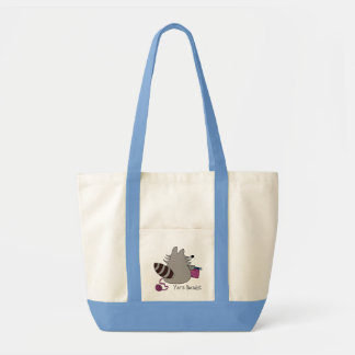 Raccoon Yarn Bandit Knitting Bag