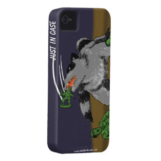 Raccoons Ate My Army Dudes iPhone 4 Cases