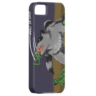 Raccoons Ate My Army Dudes iPhone 5 Case