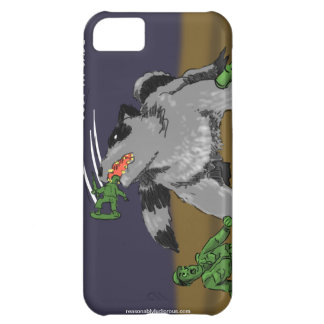Raccoons Ate My Army Dudes iPhone 5C Covers