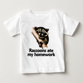 Raccoons ate my homework baby T-Shirt