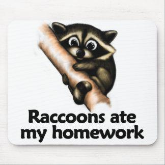 Raccoons ate my homework mousepad