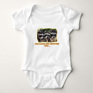 Raccoons' DESIGNS Baby Bodysuit