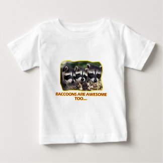 Raccoons' DESIGNS Baby T-Shirt