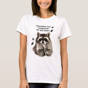 Footprints On My Heart T Shirts T Shirt Design Printing Zazzle