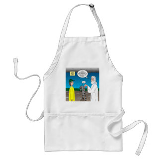 Raccoons on the Ark Adult Apron