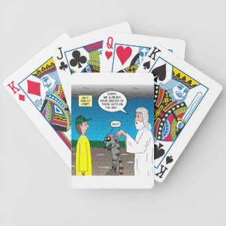 Raccoons on the Ark Bicycle Playing Cards