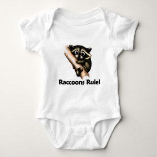 Raccoons Rule! Baby Bodysuit