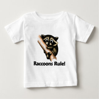Raccoons Rule! Baby T-Shirt