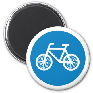 Race a bicycle magnet