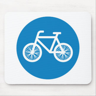 Race a bicycle mouse pad