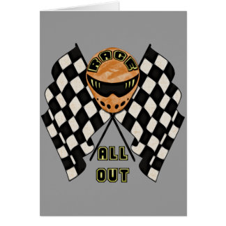 Race All Out Card