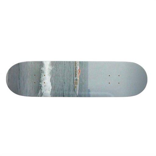 Race Boats Custom Skateboard