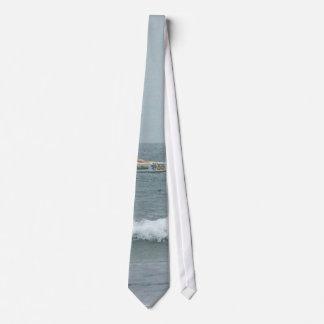 Race Boats Tie