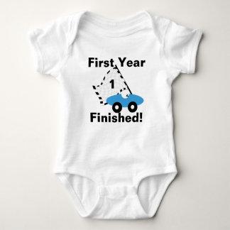 Race Car 1st Birthday Baby Bodysuit