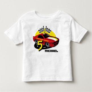 Race Car 5th Birthday Shirt
