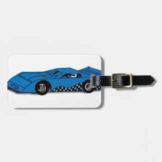 Race Car Bag Tag