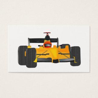 race-car business card