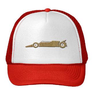 race car cap trucker hat