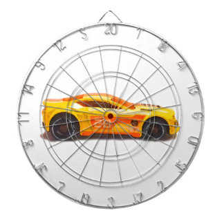 Race Car Dartboard With Darts