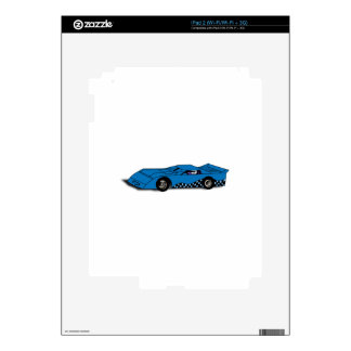 Race Car Decals For The iPad 2