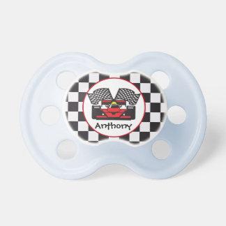 Race Car Design Pacifier
