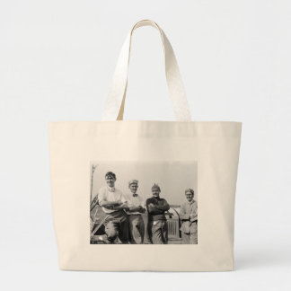Race Car Drivers 1910 Tote Bag
