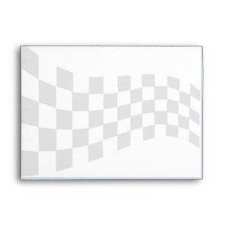 Race Car Flag Custom Envelope