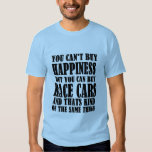Race Car= Happiness Tee Shirt