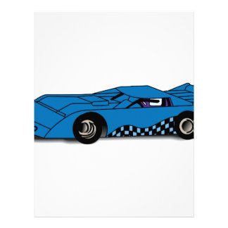 Race Car Letterhead