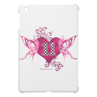 race car number 11 butterfly iPad mini cases