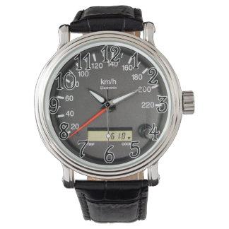 Race Car Odometer Watch