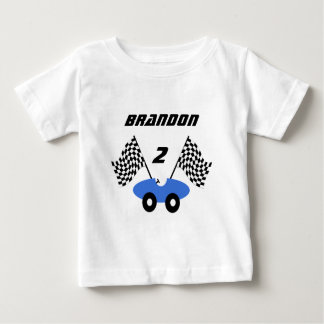 Race Car/ Personalizable Baby T-Shirt