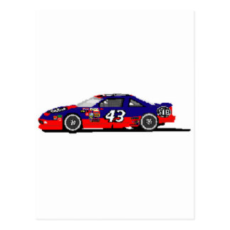 Race Car Postcard