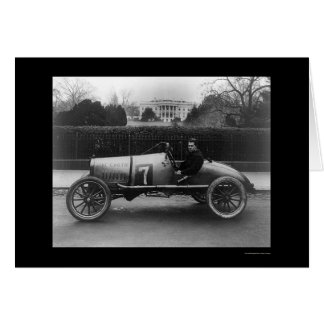Race Car, The Cootie, at the White House 1922 Card