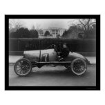 Race Car, The Cootie, at the White House 1922 Poster