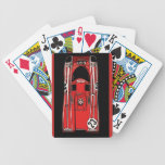 RACE CAR- VICTORY BICYCLE PLAYING CARDS