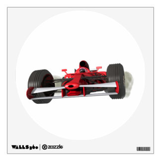 Race car wall decal