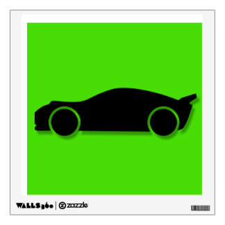 Race Car Wall Decal - Piece 2 of 4