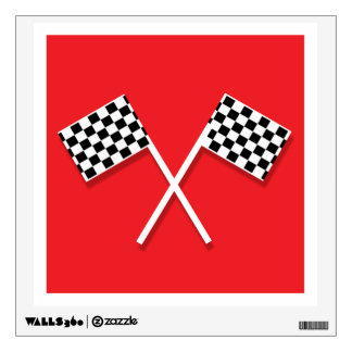 Race Car Wall Decal - Piece 3 of 4