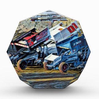 Race Cars Acrylic Award