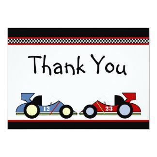 Race Cars Baby Shower/BirthdayInvitations Card
