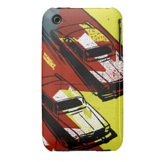 Race Cars iPhone 3 Case-Mate Case