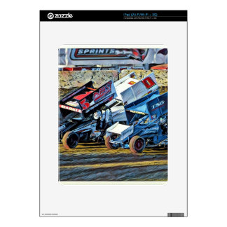 Race Cars Decals For The iPad