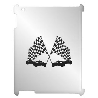 Race Cars Silver Cover For The iPad 2 3 4